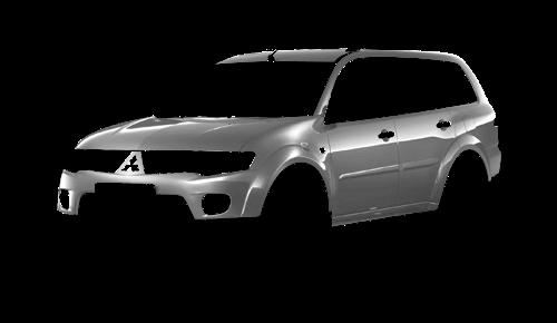 Цвета кузова Pajero Sport